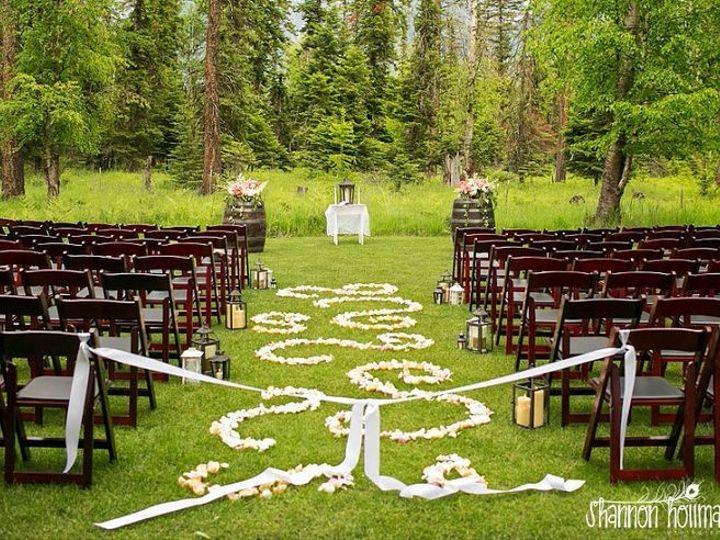 Tmx 1458059187354 1cd265a9503ba4d66512806e4737be7a Columbia Falls wedding rental