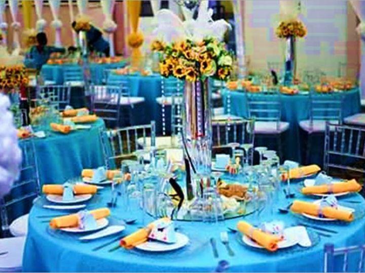 Tmx 1465564720299 Blue And Yellow Decor Elkridge wedding eventproduction