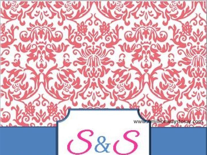 Tmx 1466550557348 Pink And Blue Damask Elkridge wedding eventproduction