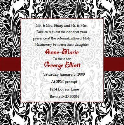 Tmx 1466550575680 Square Black Damask Elkridge wedding eventproduction