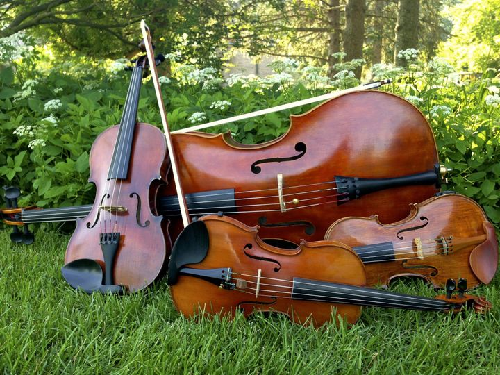 Violins and cello