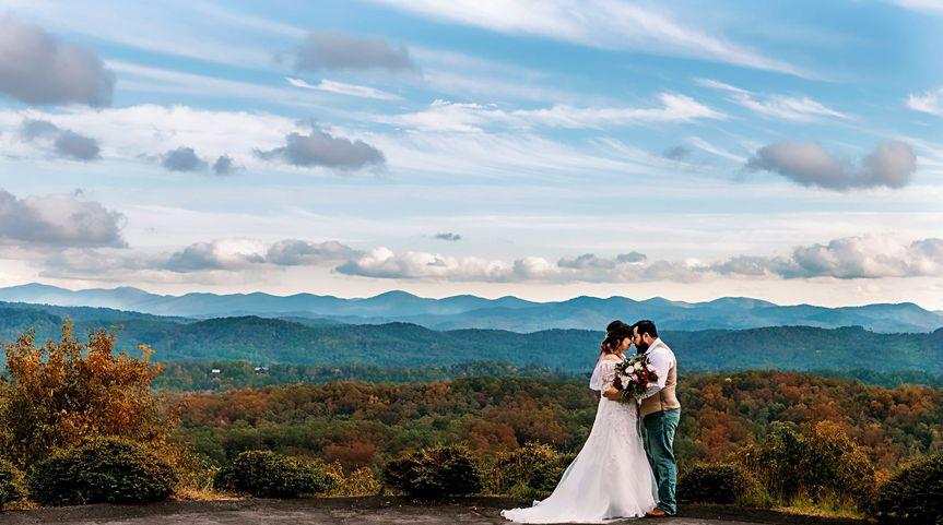 Georgia Mountain Top Wedding