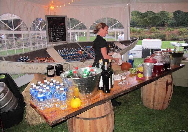 barrel table bar