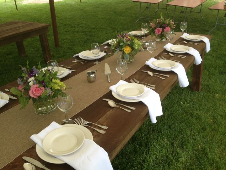 Tmx 1403701034490 Farm Table 1 Greenfield wedding rental