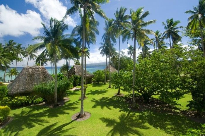 Your own tropical bungalow awaits you at qamea island resort in fiji, this private island hideaway...
