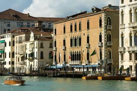 Venice italy honeymoon at gritti palace, one of our favorite italy hotels with an outdoor deck on...