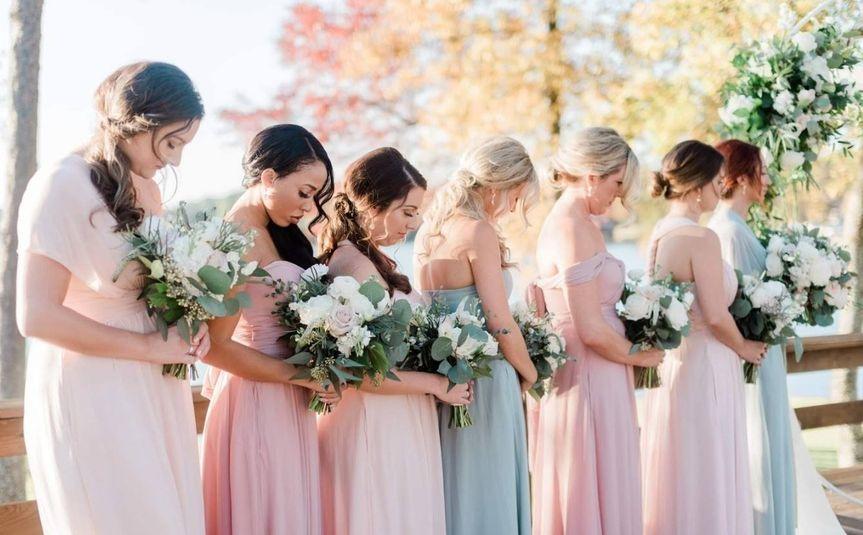 Bridal Group Prayer