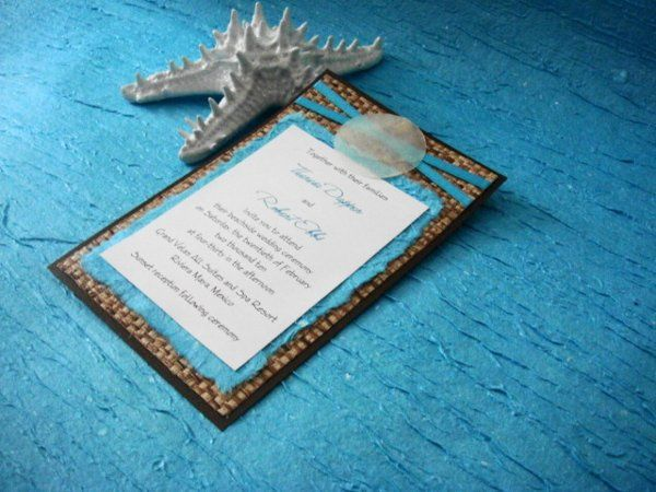 Tmx 1264103984170 Turquoisetworibbon Saint Petersburg wedding invitation