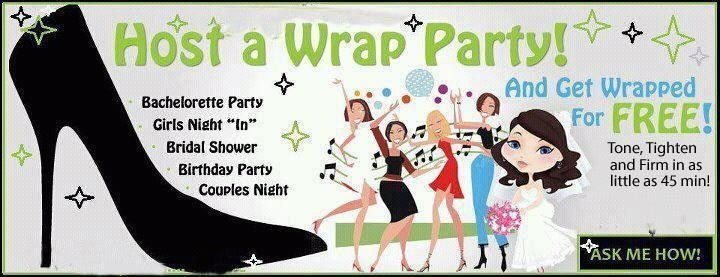 it works host a wrap party