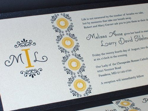 Tmx 1193861350140 MelissaCloseUp Severna Park wedding invitation
