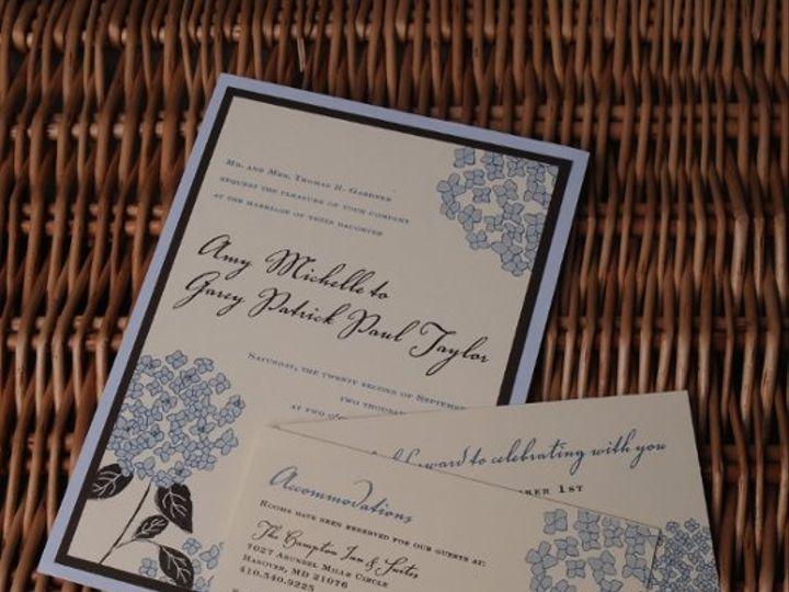 Tmx 1226544851382 Amy Garey 1 Severna Park wedding invitation