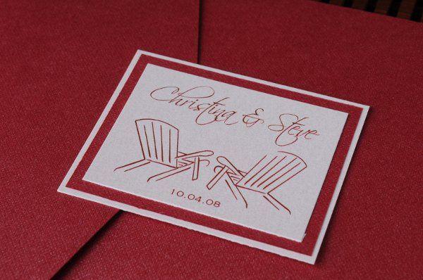 Tmx 1227406930927 Christina Steve 2 Severna Park wedding invitation
