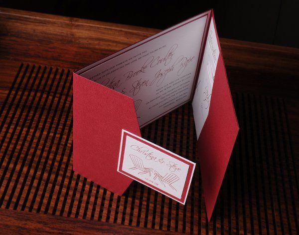 Tmx 1227406962331 Christina Steve 3 Severna Park wedding invitation