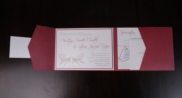 Tmx 1227406968312 Christina Steve 4 Severna Park wedding invitation