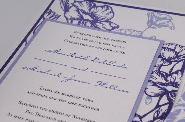 Tmx 1227410295026 Maribeth MikeInvitation 5 Severna Park wedding invitation