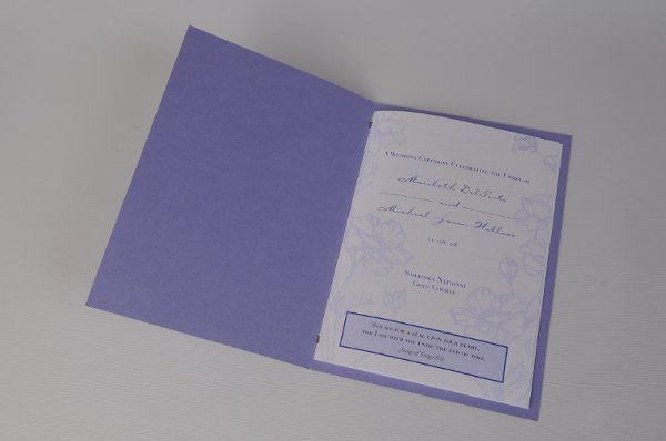 Tmx 1227410335112 Maribeth MichaelProgram 3 Severna Park wedding invitation
