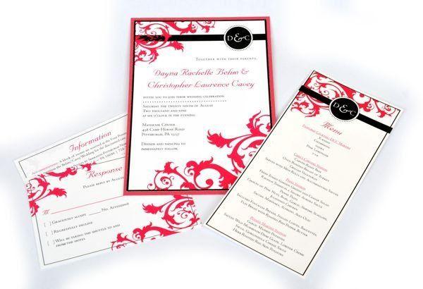 Tmx 1267399328435 Inspiredpear35 Severna Park wedding invitation
