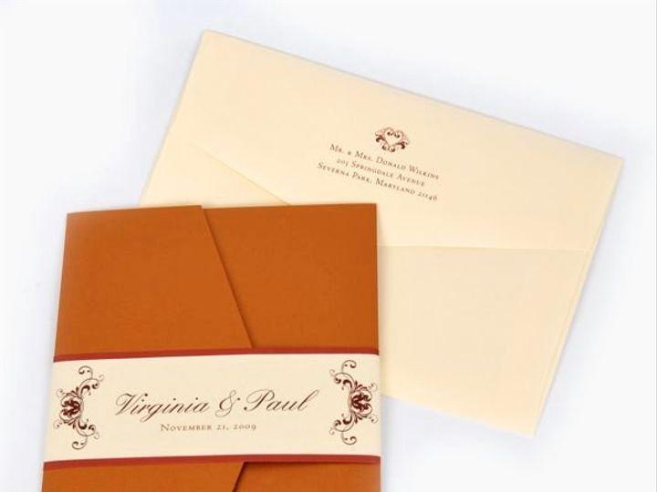 Tmx 1267399396419 Inspiredpear41 Severna Park wedding invitation