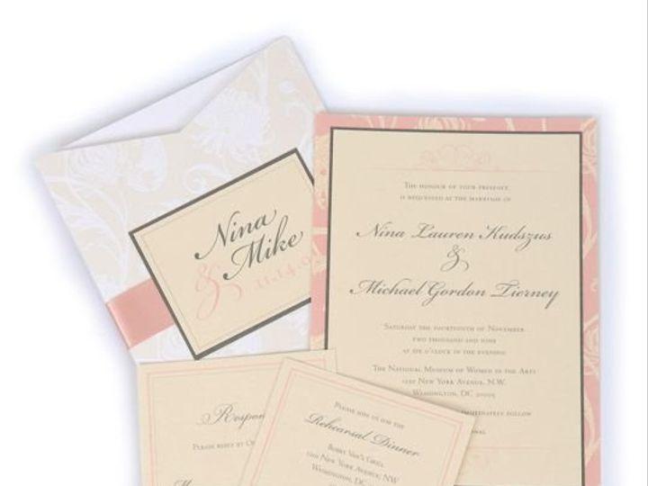 Tmx 1267399466482 Inspiredpear45 Severna Park wedding invitation