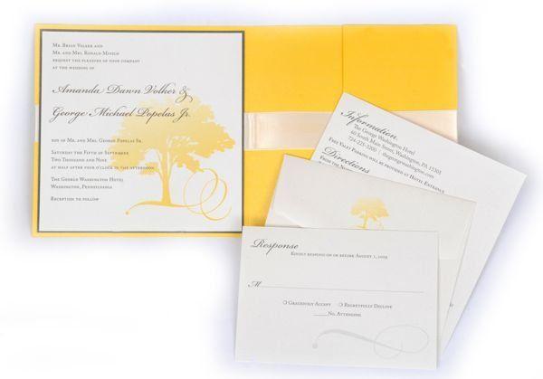 Tmx 1267399530388 Inspiredpear48 Severna Park wedding invitation