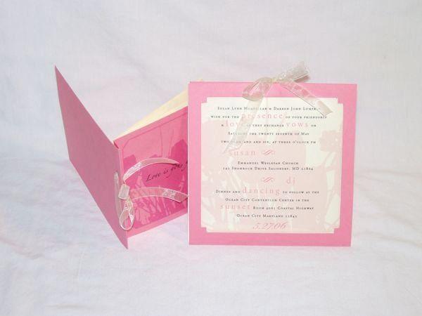 Tmx 1267399891685 Inspiredpear05 Severna Park wedding invitation
