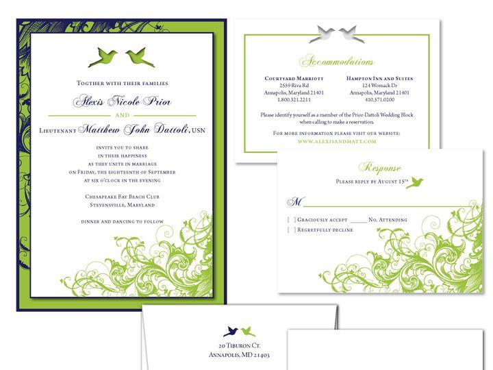 Tmx 1406075113524 Alexispage2 Severna Park wedding invitation