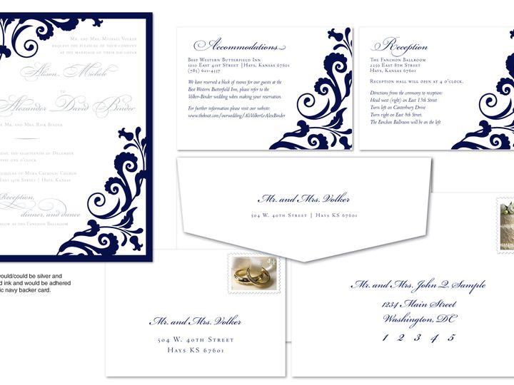 Tmx 1406075189653 Alipage3 Severna Park wedding invitation