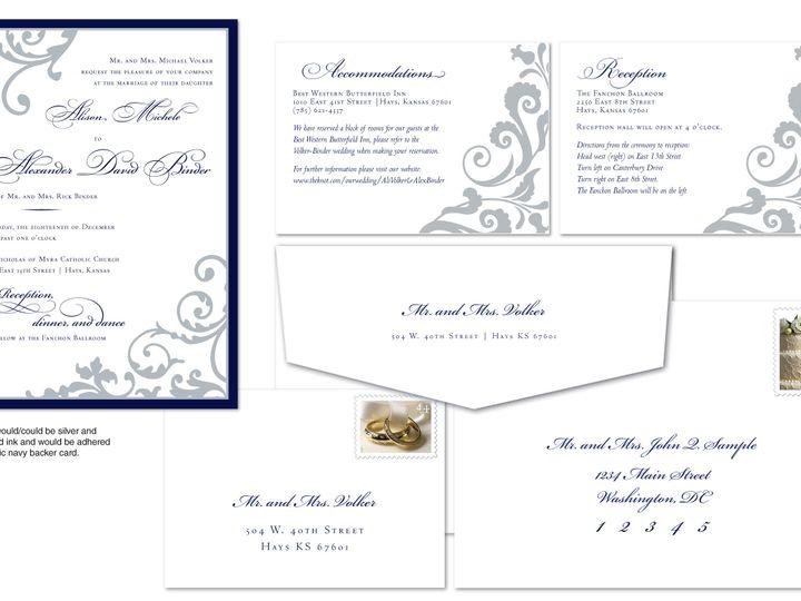 Tmx 1406075218952 Alipage4 Severna Park wedding invitation