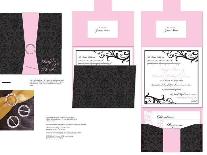 Tmx 1406075260438 Amypage2 Severna Park wedding invitation