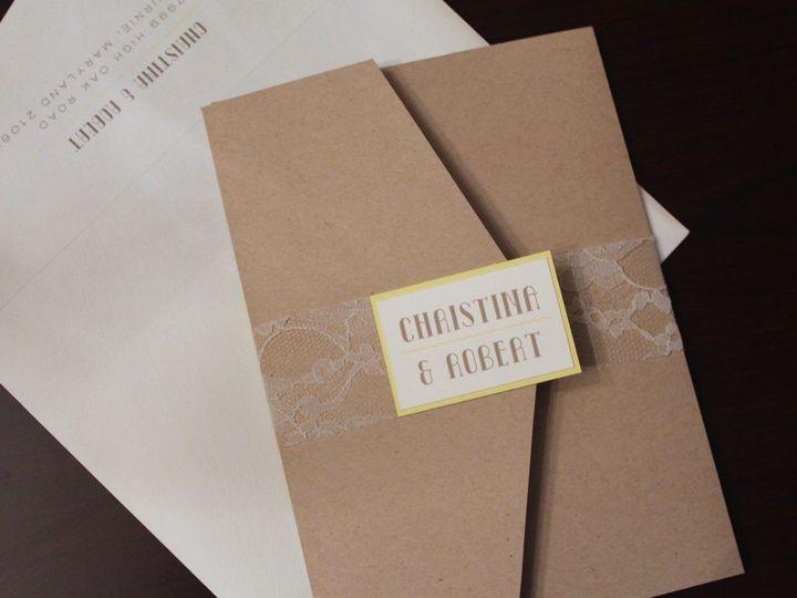 Tmx 1406075365295 Christina   1 Severna Park wedding invitation
