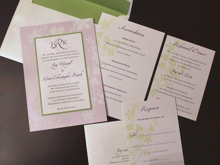 Tmx 1406075441645 Joy   1 Severna Park wedding invitation