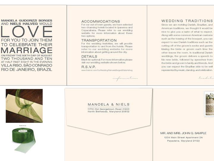 Tmx 1406075550912 Manoelapage1 Severna Park wedding invitation