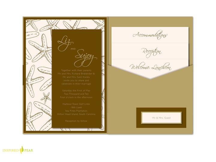 Tmx 1406075563863 Lizpage7 Severna Park wedding invitation