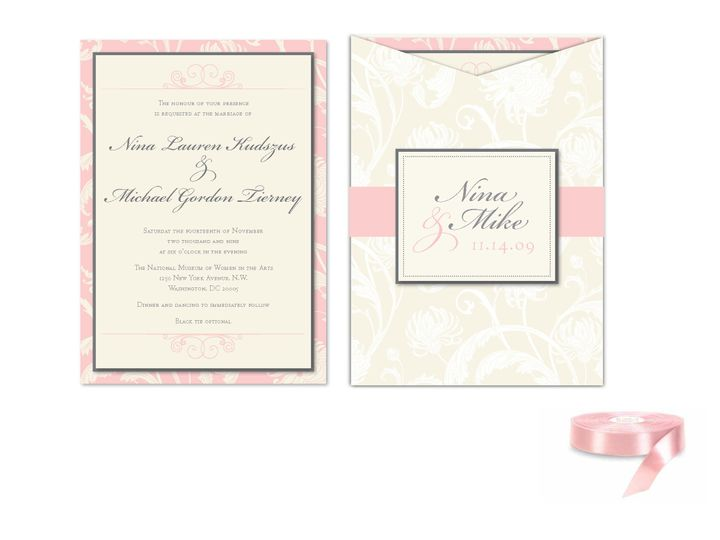 Tmx 1406075574631 Ninapage1 Severna Park wedding invitation
