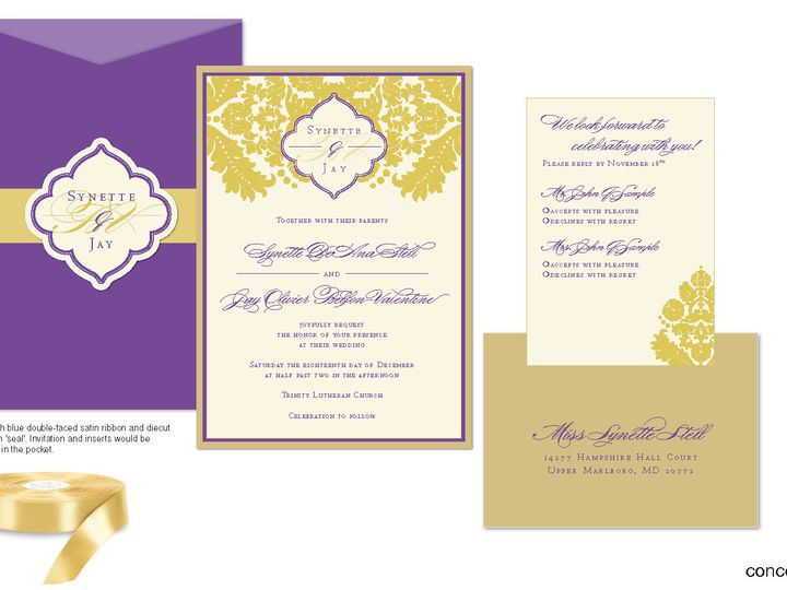 Tmx 1406075623858 Synettepage1 Severna Park wedding invitation
