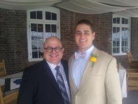 Groom and the rabbi