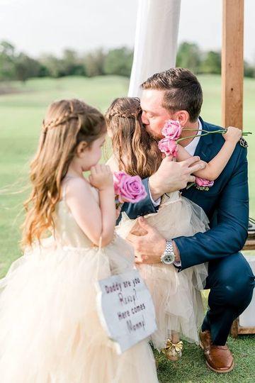 Groom & his beautiful Daughter