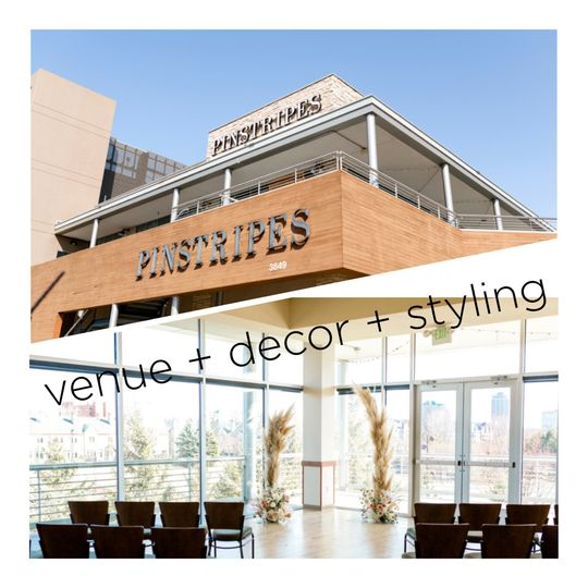 Pinstripes Venue + Decor