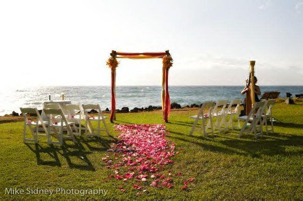 Harp Music for Multi-Cultural, American/East Indian Wedding Ceremony at Wailea Marriot, Island of...