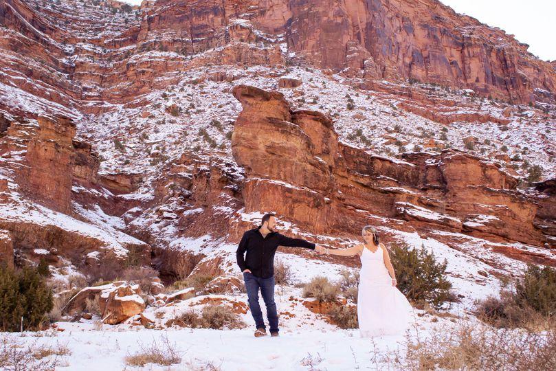 Elopement in Moab, UT