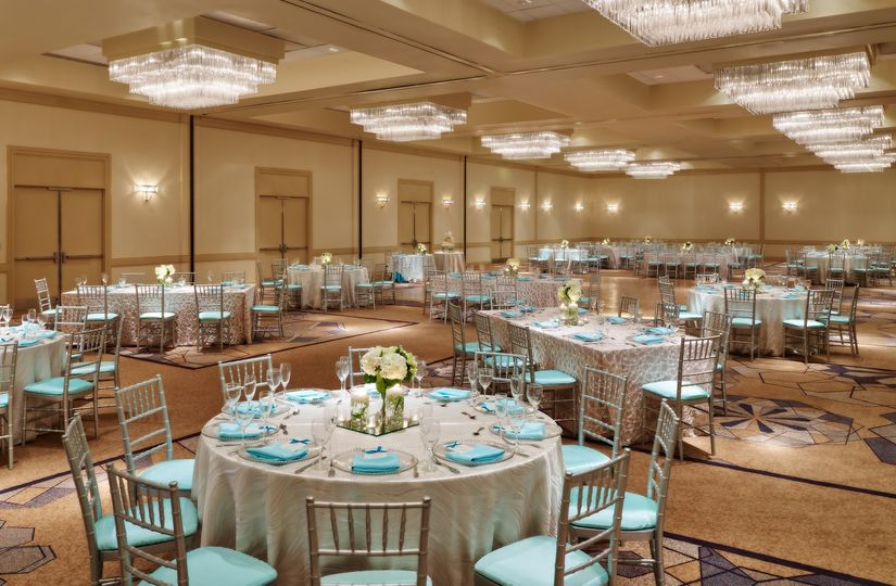 Newly renovated Fitzgerald Ballroom