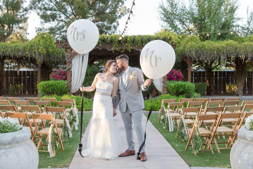 Mr. & Mrs. Balloons