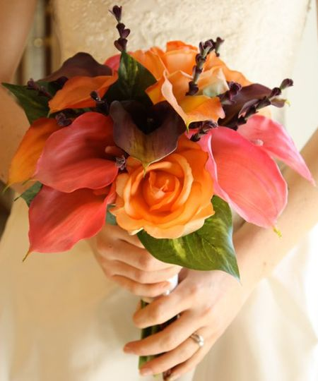 Calla Lily Bouquet (real touch artificial flowers)