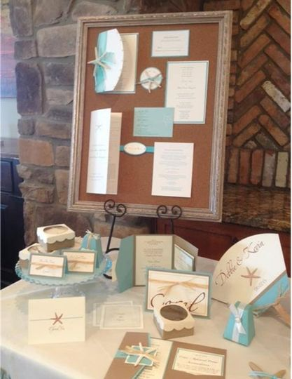 Starfish Wedding Invitation Suite Visit our website for more pictures and contact information!...