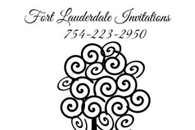 Fort Lauderdale Invitations