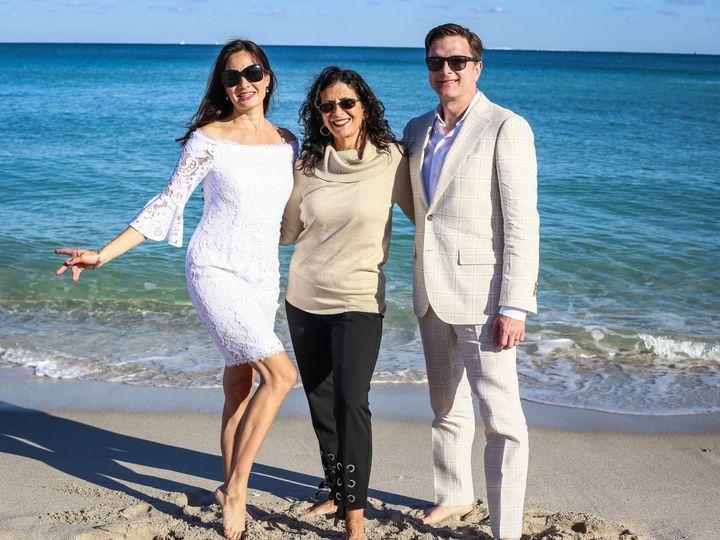 Tmx 1514939279170 Largenowitsforever171212lisashannonfaenawedding 38 Fort Lauderdale, FL wedding officiant