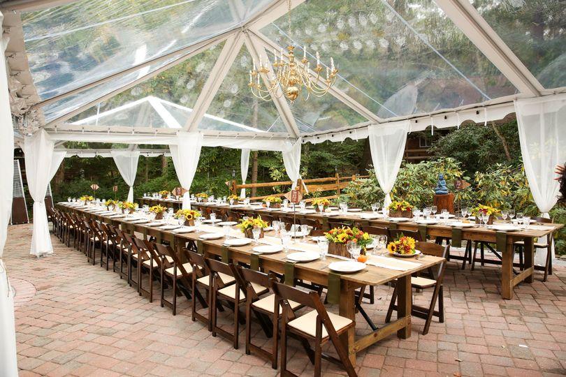 Elegant Transparent Tent