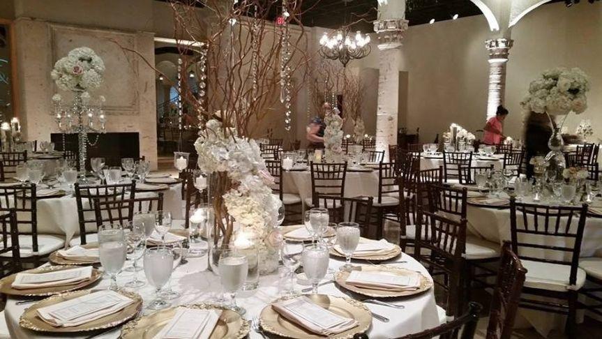 Table flower decor