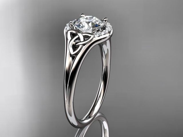 ct791 white gold platinum diamond wedding ring dia