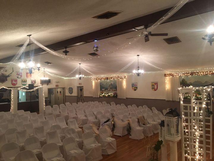 Indoor ceremony Englewood